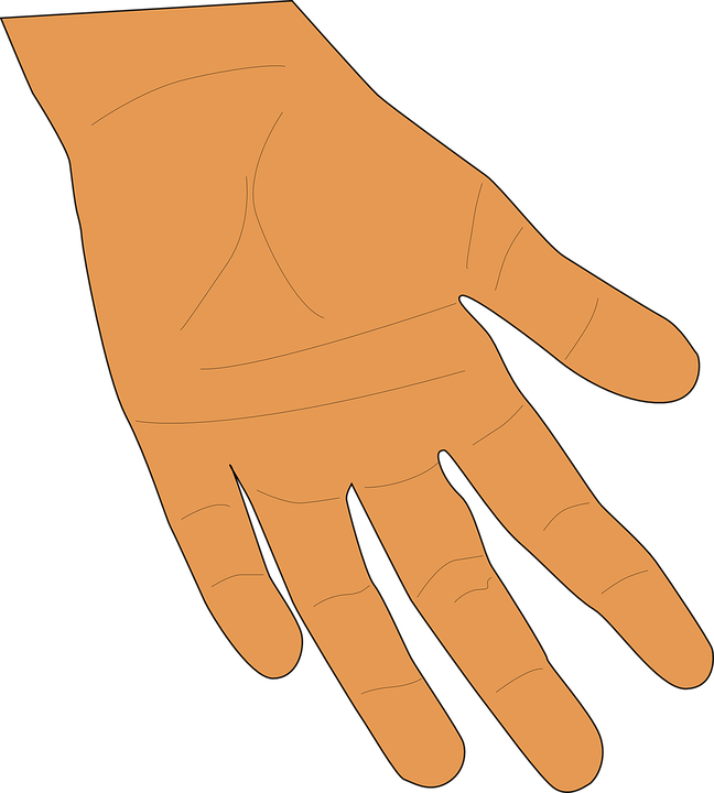 Open giving hands png. Skin clipart outstretched hand