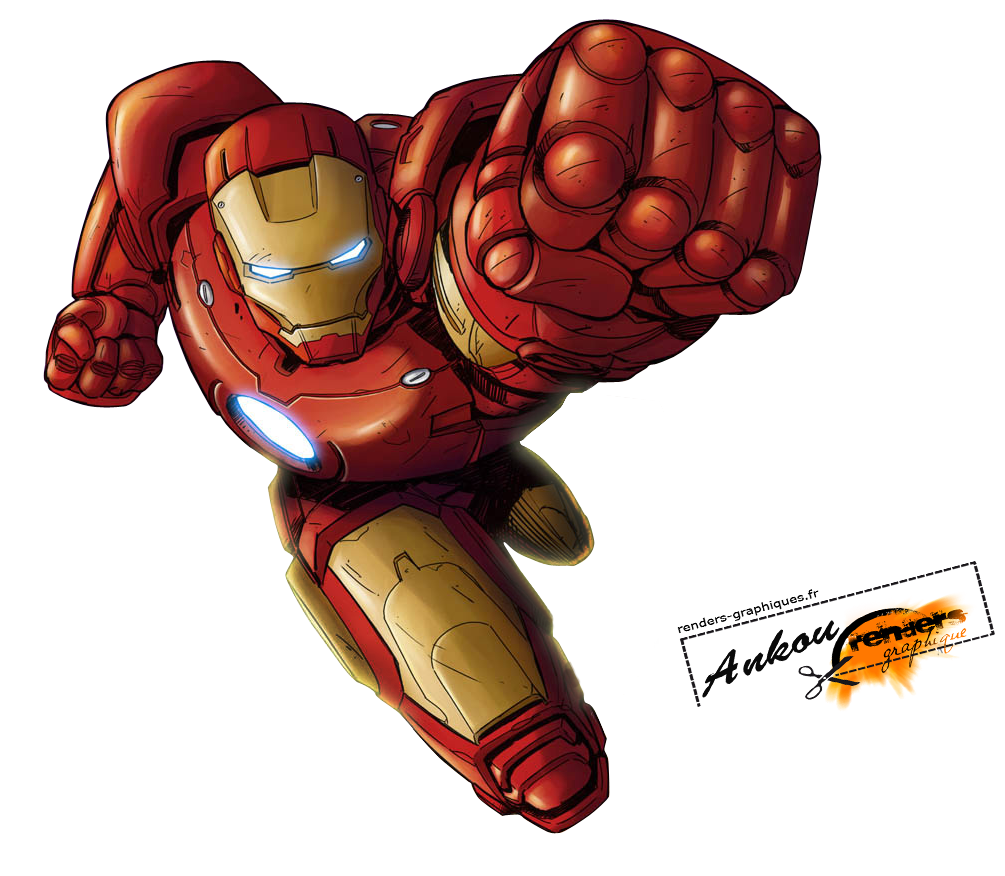 Transparent png pictures free. Superheroes clipart iron man cartoon
