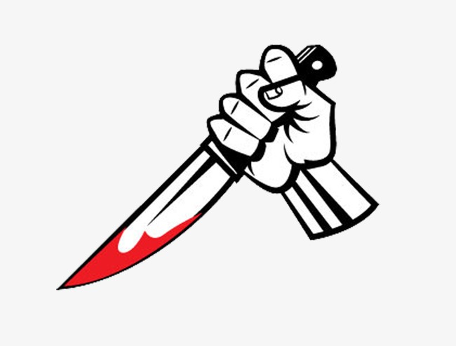 Knife clipart hand. With
