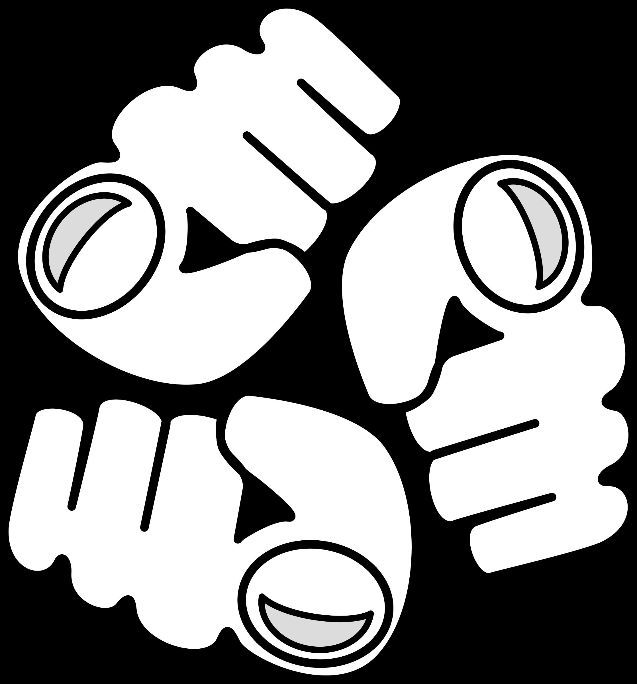 Passive aggression international big. Thumb clipart approved logo