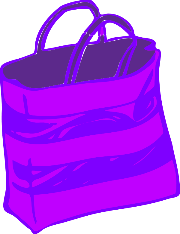 Shopping bags group clip. Patient clipart bag