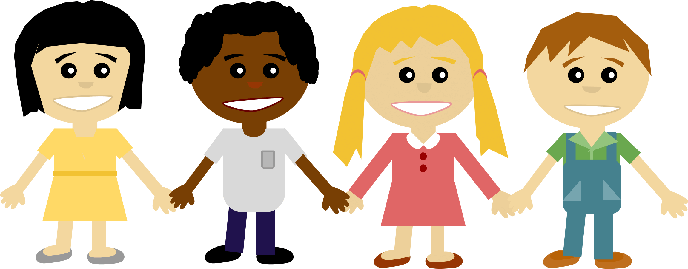 Hand clipart unity. Hold cliparts kids holding