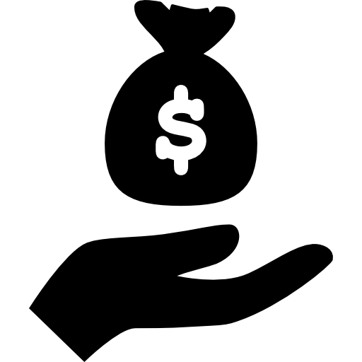 svg royalty free. Hand holding money png