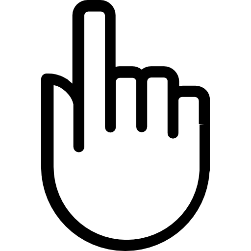 Hand icon png. Click free gestures icons