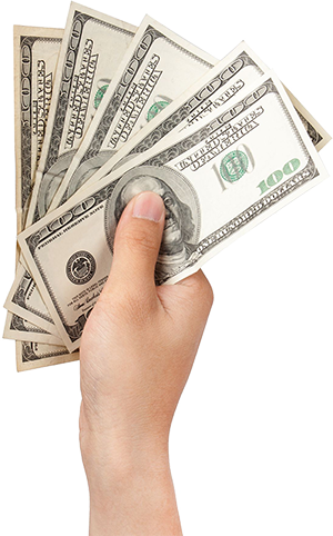 Hand with money png. Gryfin com website seo