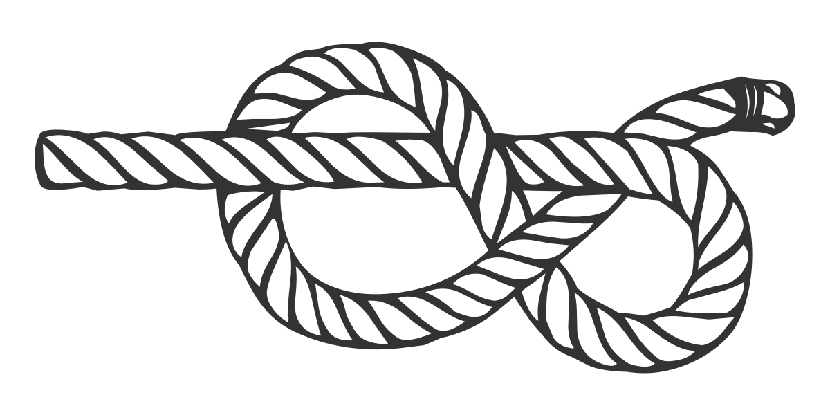 Handcuff clipart 8th. Figure eight knot wikipedia