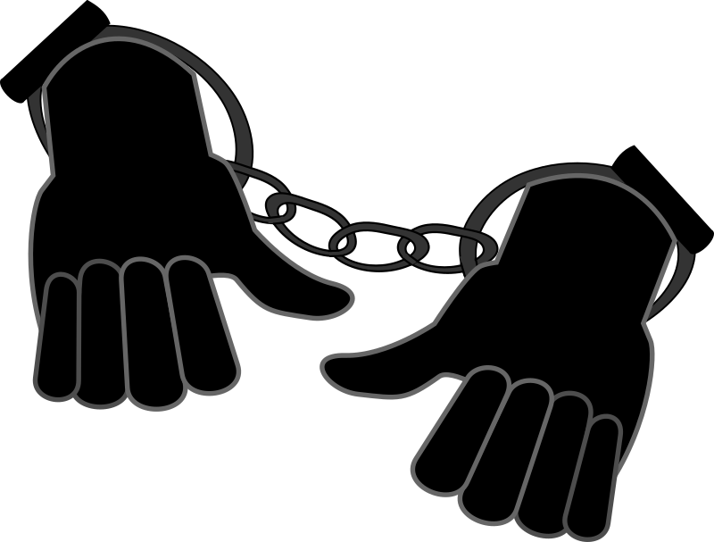 Handcuffs clipart thing. Handcuffed medium image png