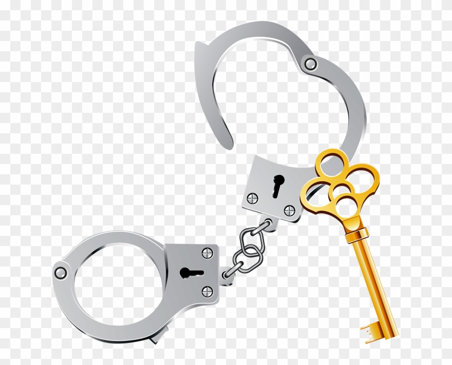 Handcuff clipart accessory. Handcuffs open clip art