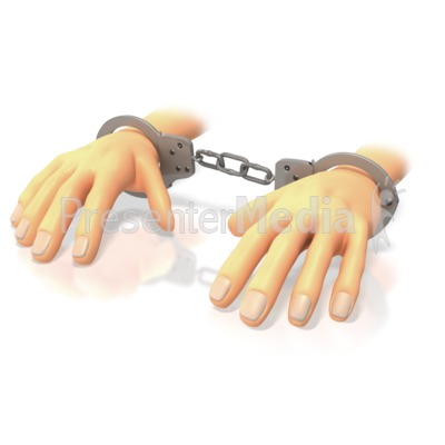 Hands in presentation great. Handcuffs clipart animated