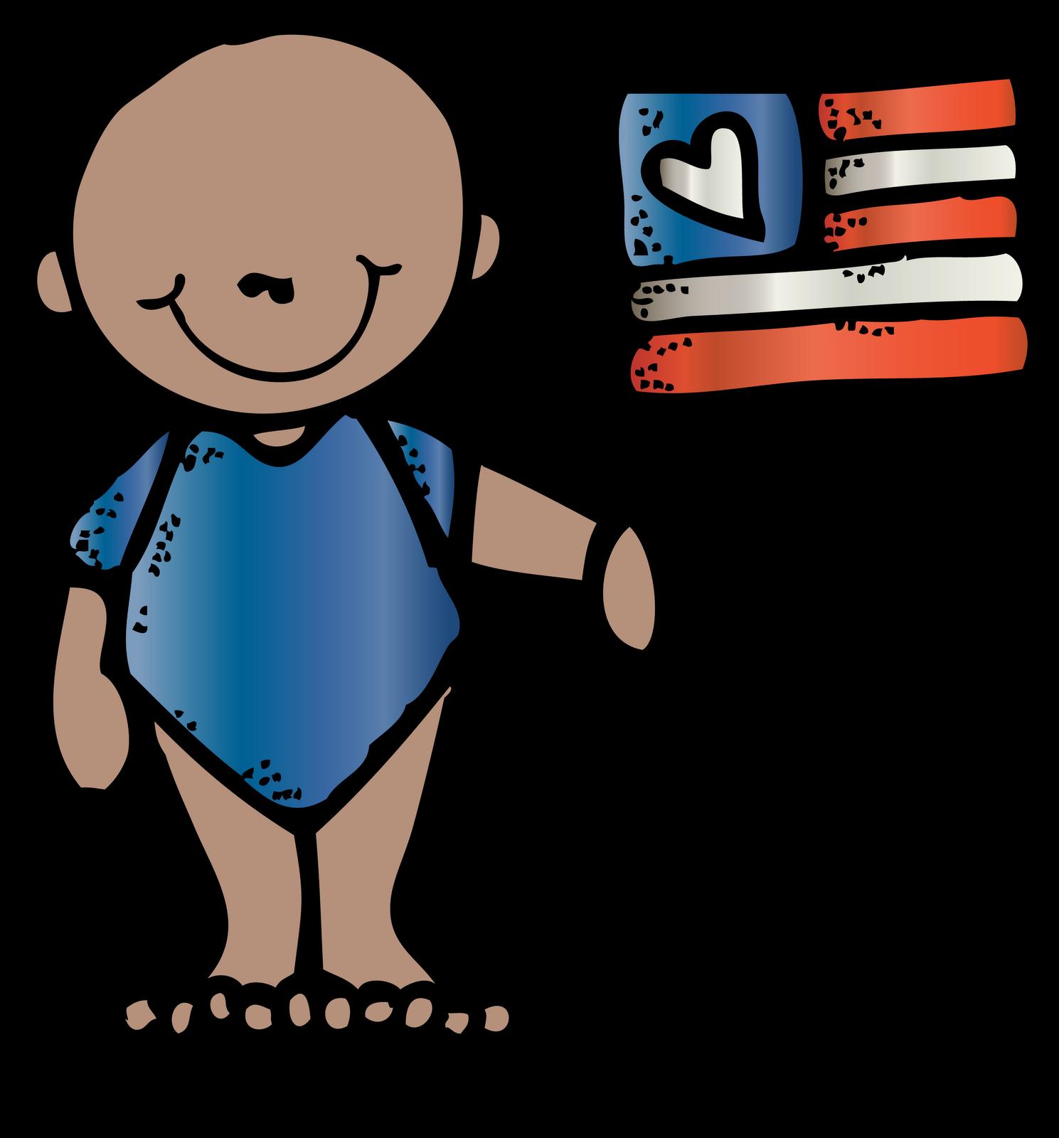 Happy july th. Melonheadz clipart baby