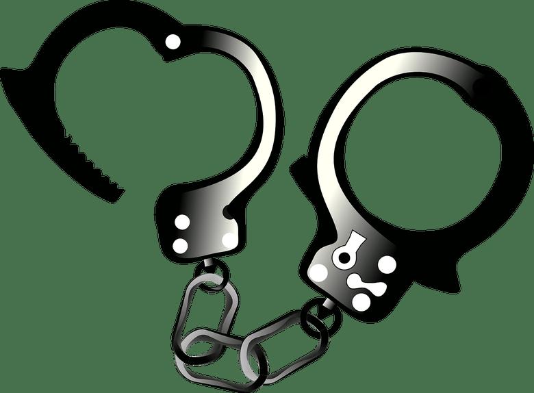 Handcuffs clipart person. Could trump pardon flynn