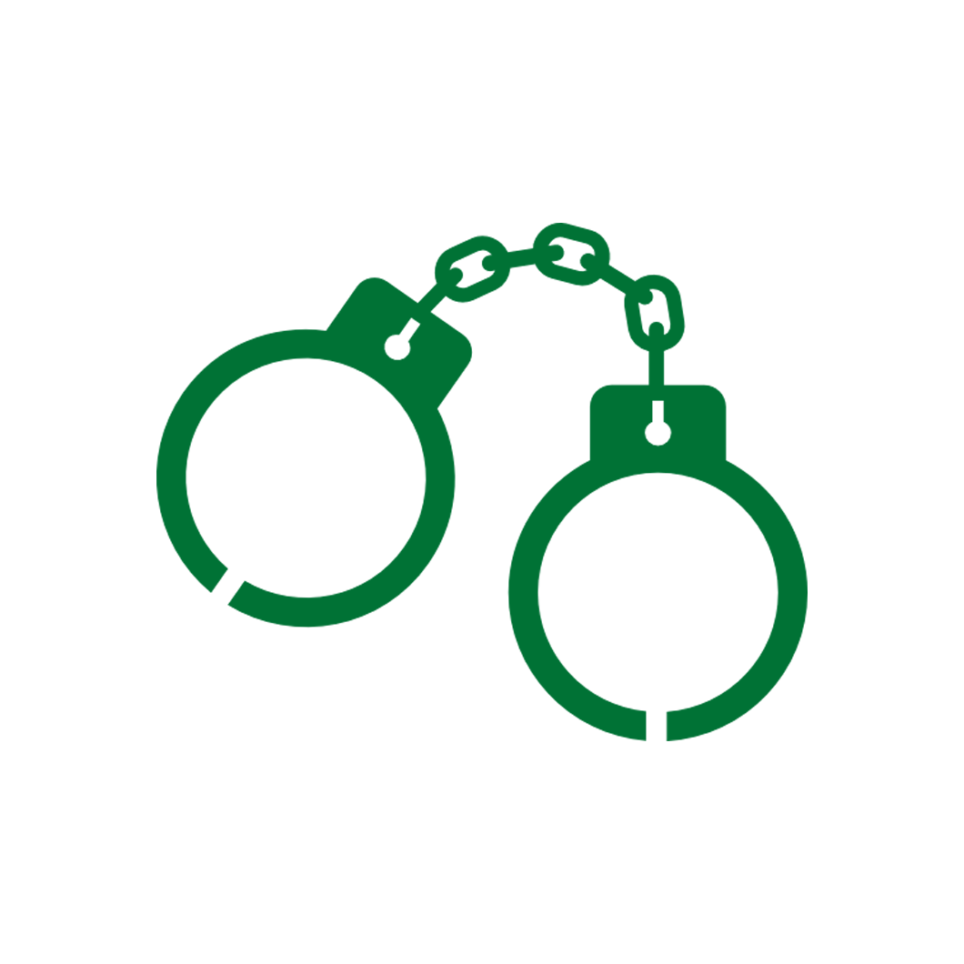 Handcuffs clipart criminal case. Law personal injury family