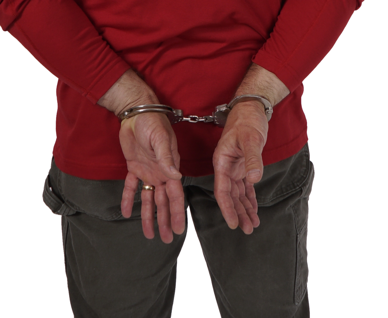 Handcuff clipart cuffed hand. Path handcuffing technique training
