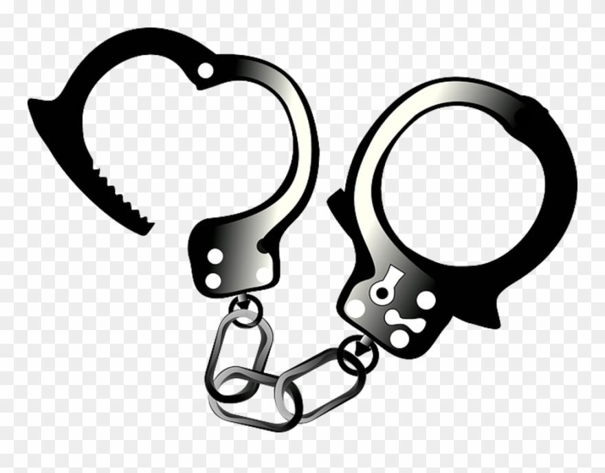 Open handcuffs png download. Handcuff clipart hand cuff