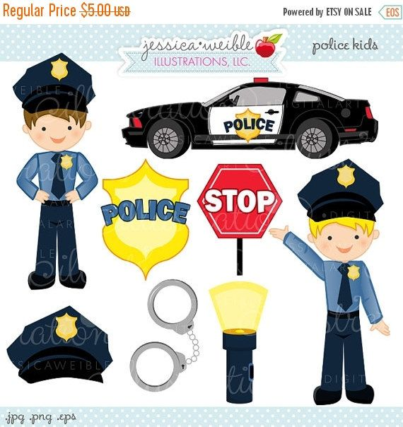 Handcuff clipart police stuff. Kids cute digital commercial