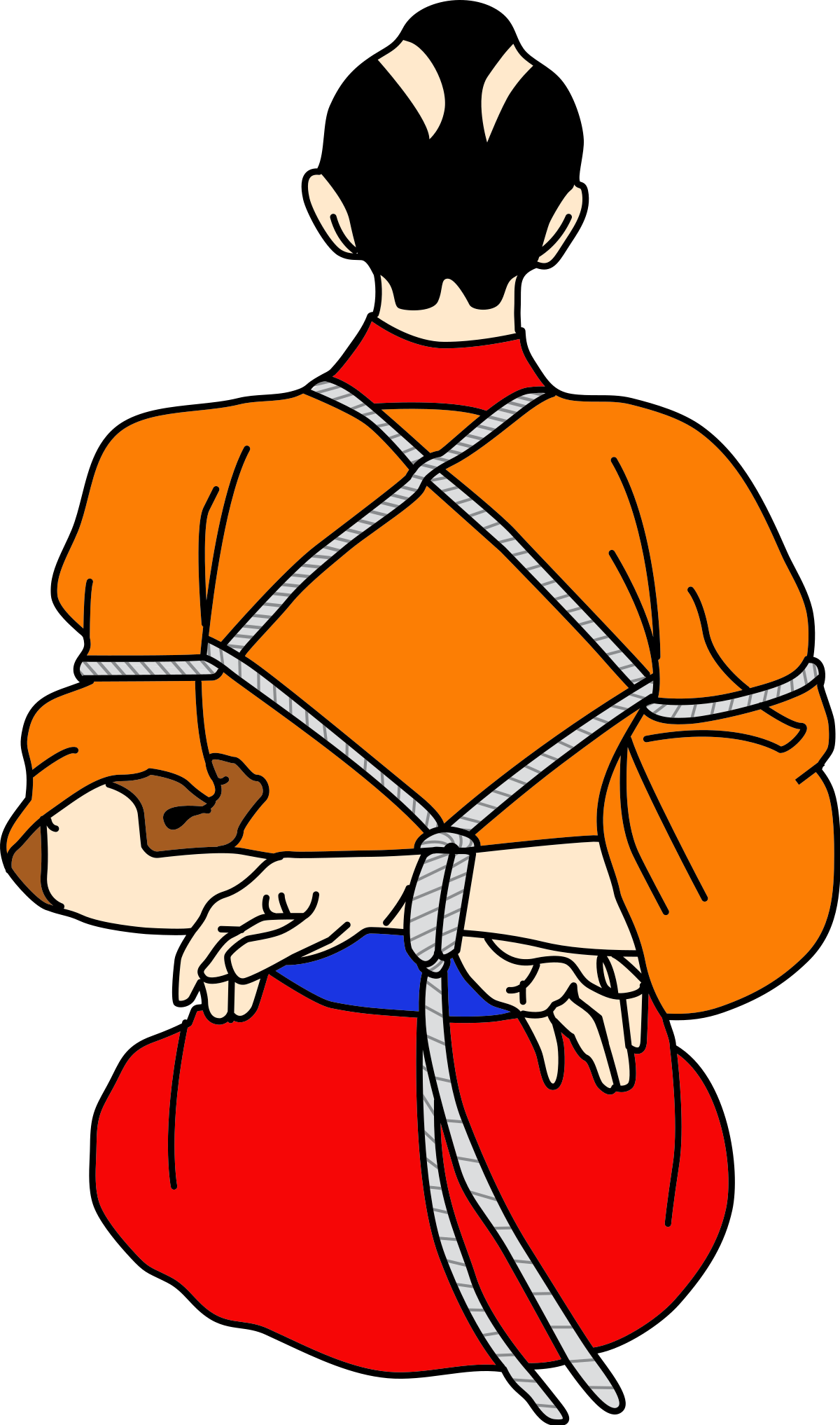 Handcuffs clipart prisoner. Hoj jutsu wikipedia