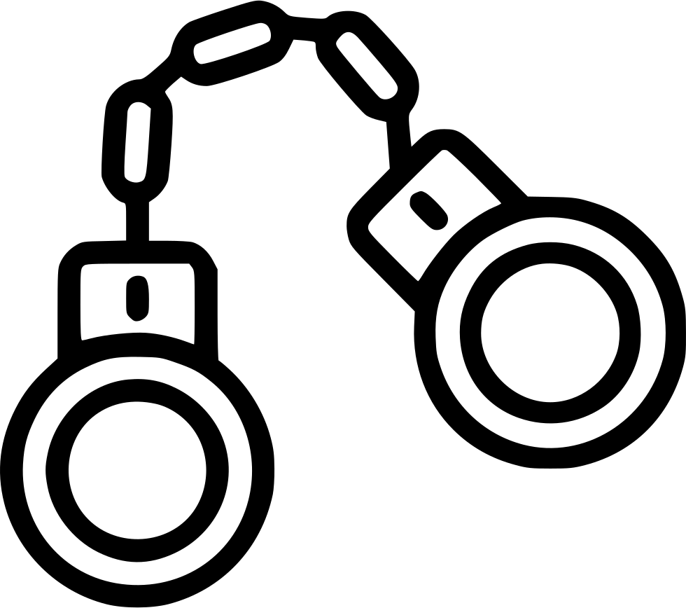 Handcuff clipart svg. Handcuffs png icon free