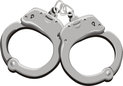 Handcuffs png images free. Handcuff clipart transparent background