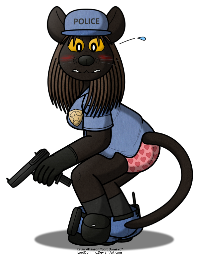 Tamaya in trouble by. Handcuffs clipart bad cop