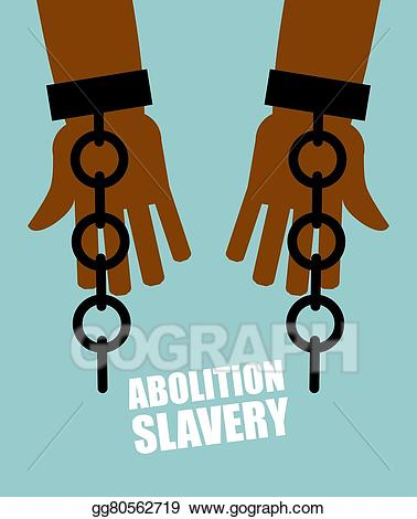 Vector stock abolition of. Slavery clipart slavery abolished