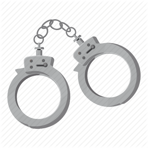 Police officer circle transparent. Handcuffs clipart cartoon