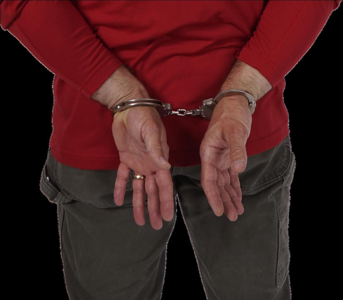 Download jpg library . Handcuffs clipart cuffed hand