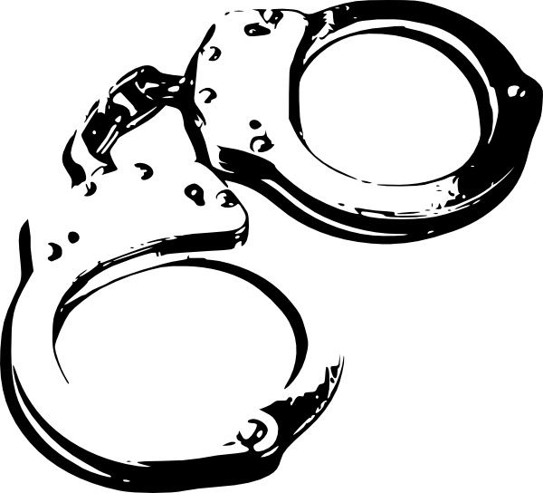 Handcuffs clipart custody. Caroline sheriff s take