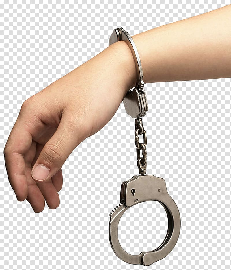 With china crime arrest. Handcuffs clipart person