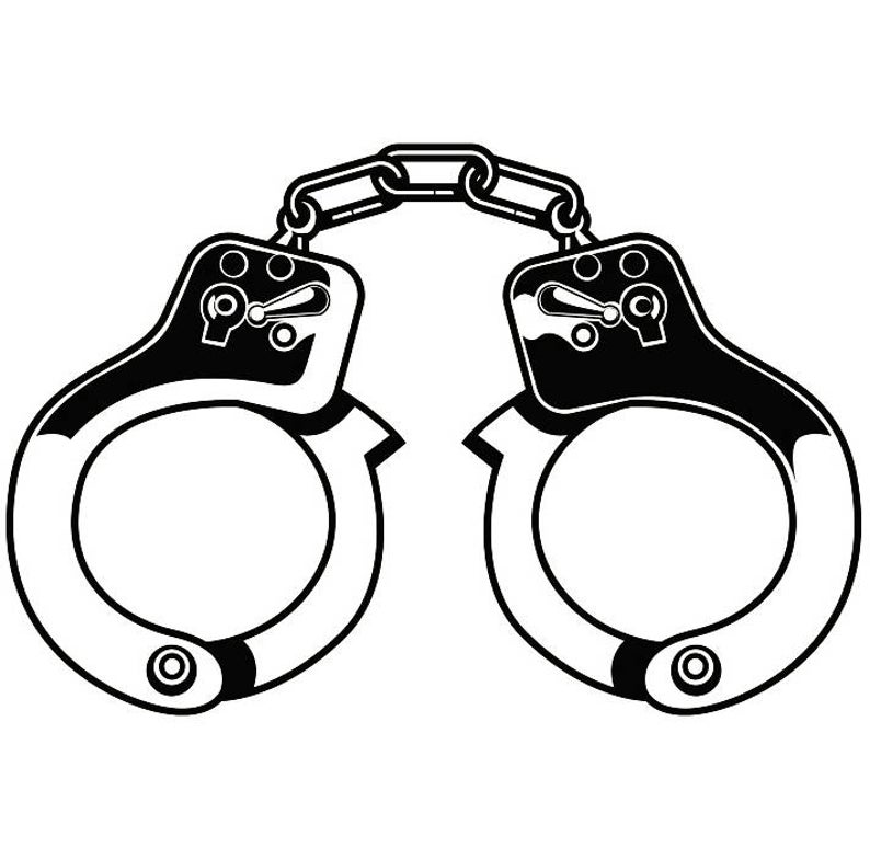 Handcuffs clipart police equipment. Officer cop law enforcement