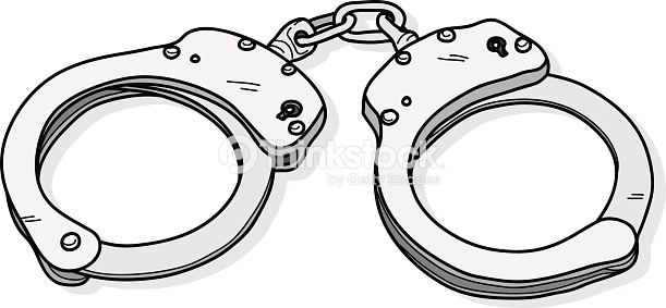 Handcuffs clipart sketch. At paintingvalley com explore