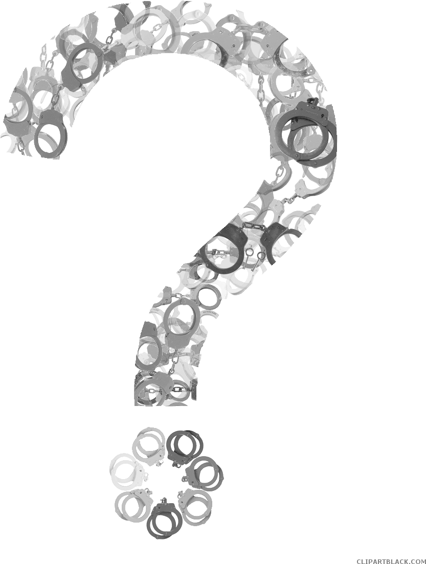 Handcuffs clipart tool. Download fun question full