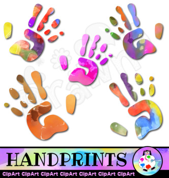 Handprint clipart abc. Worksheets teaching resources tpt
