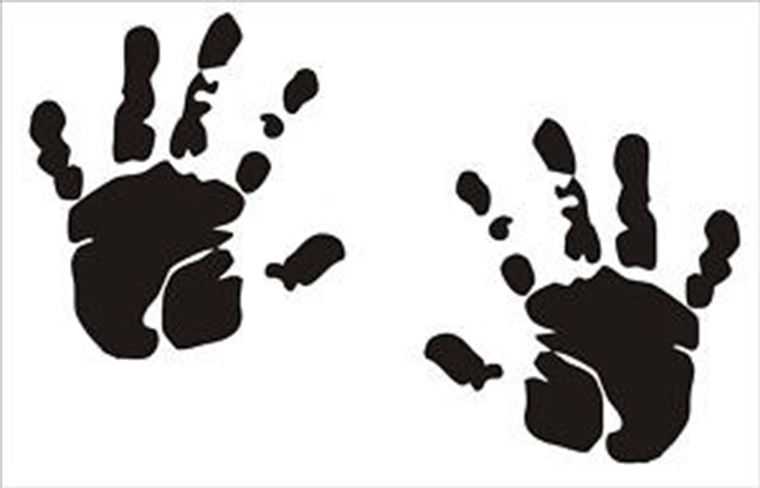 Free cliparts download clip. Handprint clipart baby boy