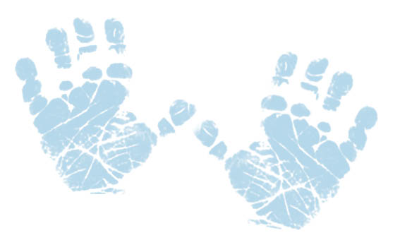 Handprint clipart baby boy. Free cliparts download clip
