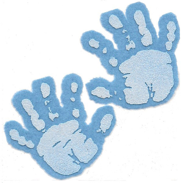 Free cliparts download clip. Handprint clipart blue baby