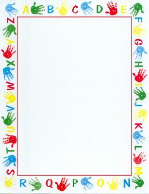 Free cliparts download clip. Handprint clipart border paper