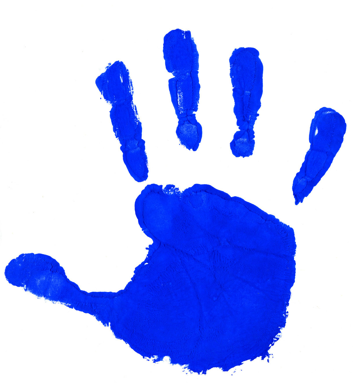 Free baby cliparts download. Handprint clipart child's