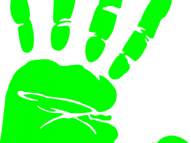 Handprint clipart colored. Popular cliparts page dumielauxepices