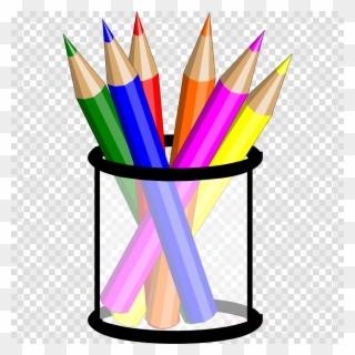 Handprint clipart colored pencil. Free png pencils clip