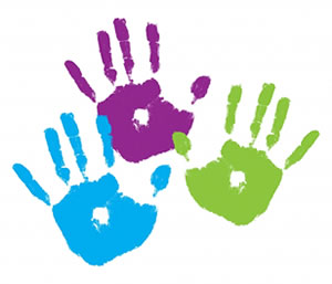 Handprint clipart day care. Free single cliparts download