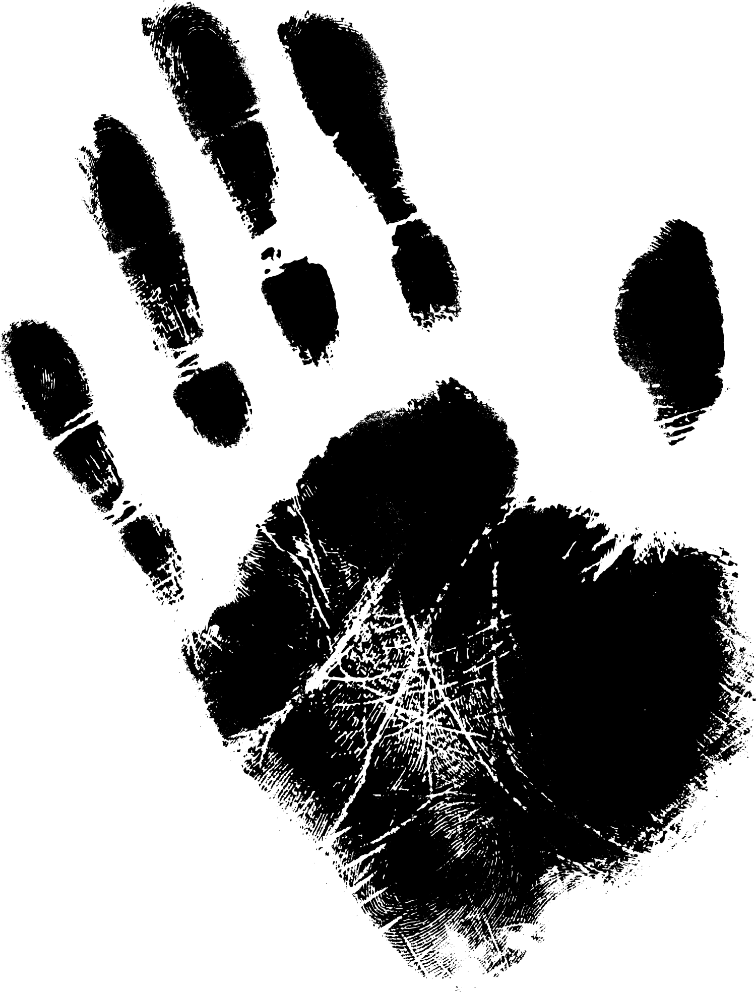 Free photo handprints hands. Paint clipart handprint
