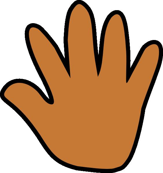 Light print clip art. Handprint clipart hand foot