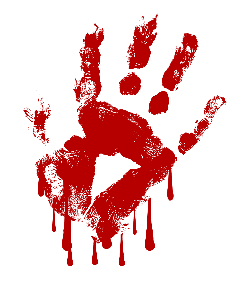 Red free collection download. Handprint clipart hand print