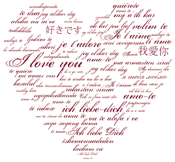 International love transparent png. Handprint clipart heart middle