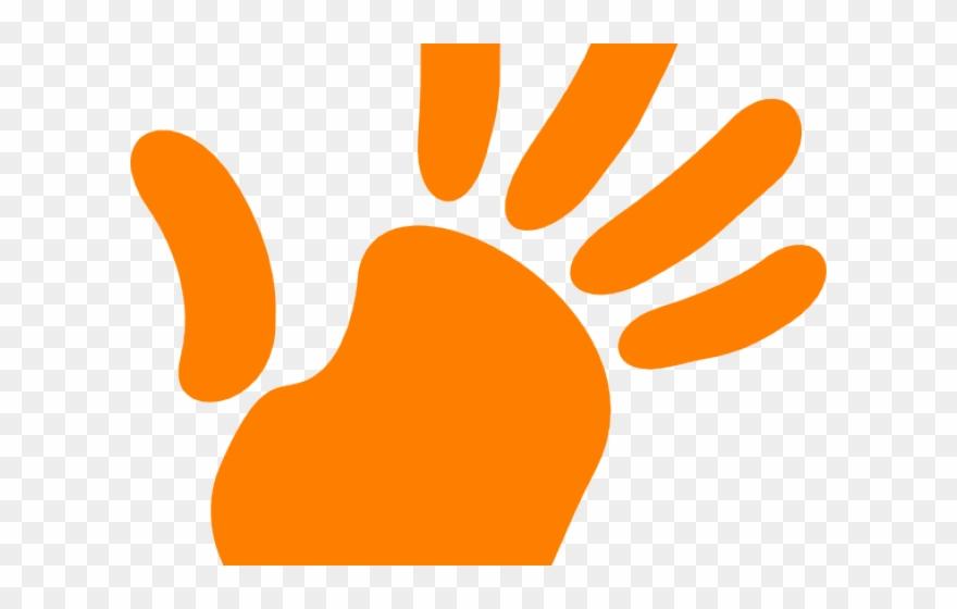 Handprint clipart high five. Right hand png transparent