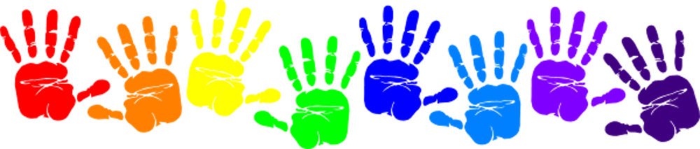 Light of christ preschool. Handprint clipart kindergarten