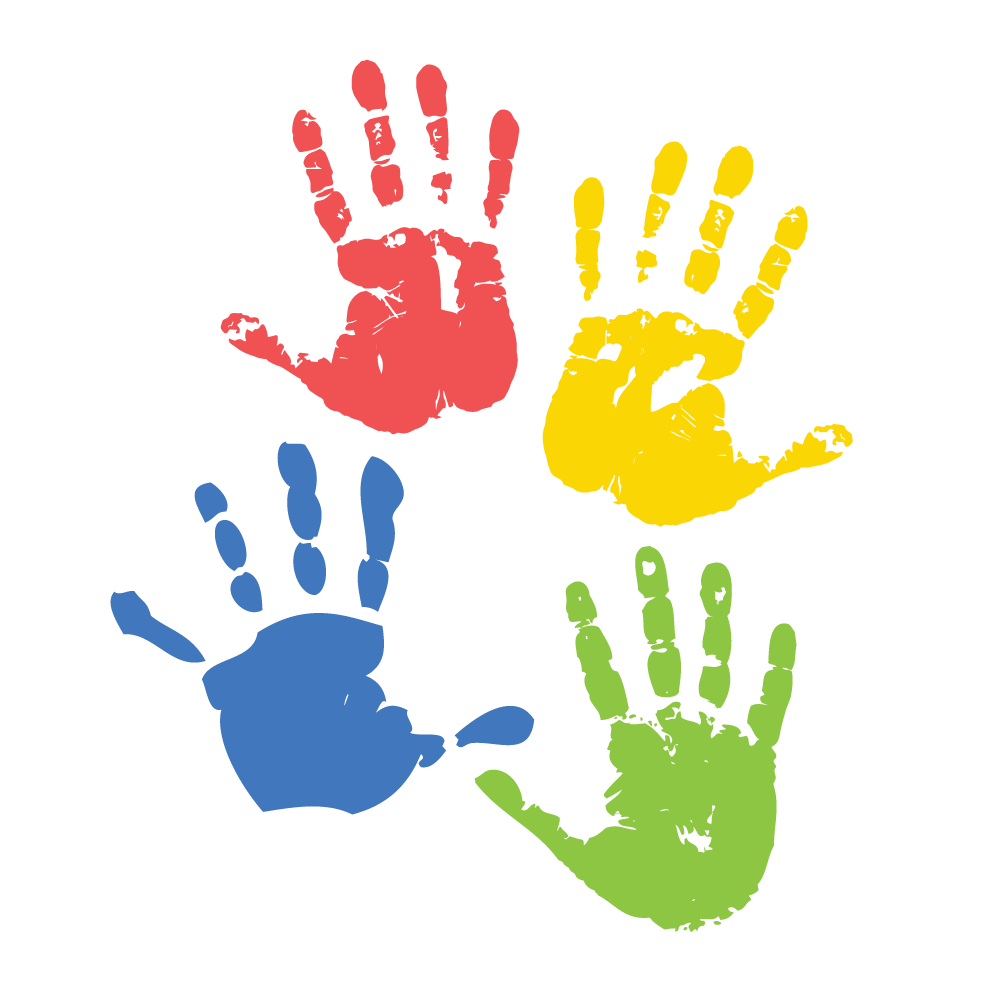 Teachers matter most in. Handprint clipart kindergarten
