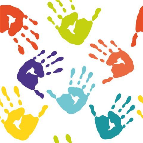 Free hand download clip. Handprint clipart little