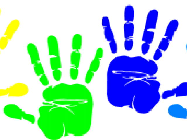 Handprint clipart little hand. Popular cliparts page dumielauxepices