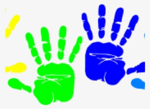 Handprint clipart little. Png transparent image free